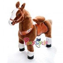 Ponycycle, Brown with White Hoof 62*28.5*76cm