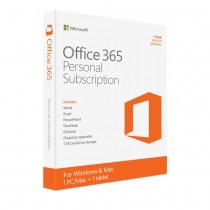 Microsoft Office 365 Personal | 1-year subscription, 1 user, PC/Mac Download