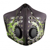 RZ mask, Digi Tech Green Regular