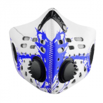 RZ mask, Splat Blue Regular