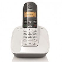 Gigaset A490 DECT Phone, White