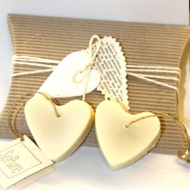 Sopure, St. Valentine 2 Ispahan Jasmin Hearts Soaps