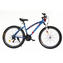 "Spartan, Trail Blazer 26"" Unisex Alloy Mountain Bike, Blue"