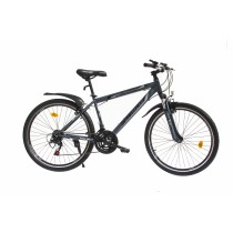 "Spartan, Falcon 26"" Mens Steel Mountain Bike, Black"