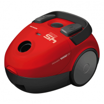 Sencor High Efficiency Vacuum Cleaner 1200 W Red - SVC 45RD
