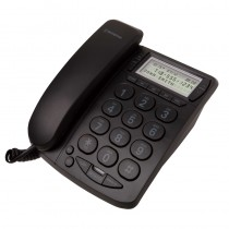Westinghouse Trimline Corded Telephone - 215BK