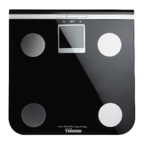 Tristar  Personal Body Analysis Scale, Safety glass plate, Black - WG-2424