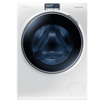 Samsung  Washing Machine with ecobubble, 10 kg-White-WW10H9600EW