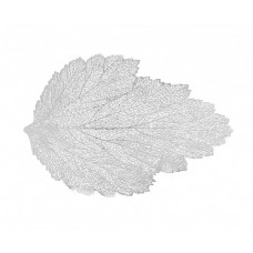 Stokes, Leafy Placemat, Silver