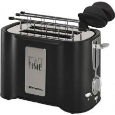 Ariete Toaster, 500W, Black - 124/10