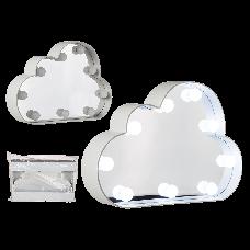 Everythink, cloud shape mirror