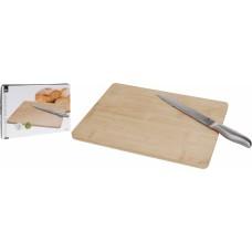 Itemz, Cutting board bamboo with knife