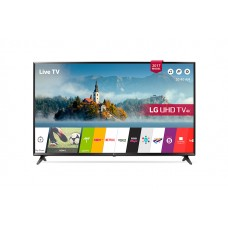 LG 55 Inch LED TV UHD 4K Smart With Built-In 4K Receiver - 55UJ630V