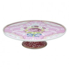 Pip Studio, Amsterdam Porcelain Cake Stand, Pink, 30.5 cm