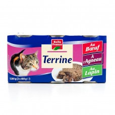 Belle France, Terrine, 3 Flavors, Set Of 3