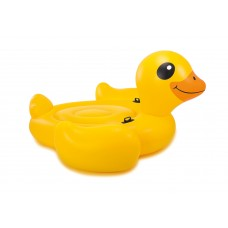 Intex, Mega Yellow Duck Island 221cm L x 221cm W x 109cm H