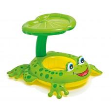 Intex, Froggy Friend Shaded Baby Float 119*78 Cm
