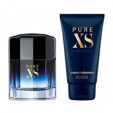 Paco Rabanne Pure XS Gift Set, Eau De Toilette 50ml + Shower Gel 100ml