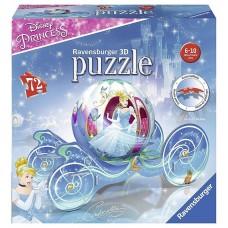 Disney Princess, Cinderella Ravensnburger 3D Puzzle, 72 Pieces
