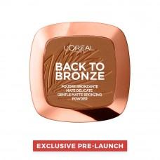 L'Oreal Paris - Back to Bronze Matte Bronzing powder, Exclusive Pre-Launch