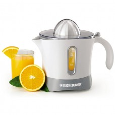 Black & Decker 500ML, 30-Watt Citrus Juicer (White and Gray) - CJ650-B5