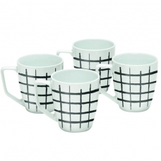 Salt & Pepper, Mugs, 0.36 Liters, Set of 4 Pieces