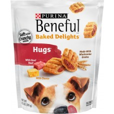 Beneful, Baked Delights Hugs with Real Beef 8.5oz, Pack of 2