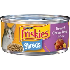 Friskies, Turkey Cheese Dinner 156g, Pack of 3