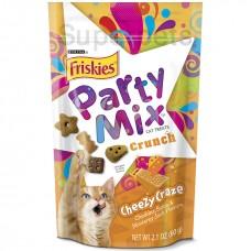 Friskies, Party Mix Crunch Cheezy Craze 60g, Pack of 3