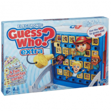 Hasbro, Guess Who Extra, Board Kids Game, English