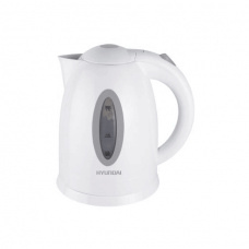Hyundai Electric Kettle 2200 W, White - Stainless Steel - HY-K170W