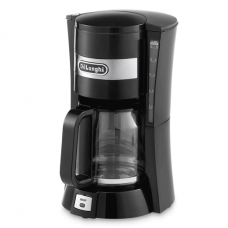 DeLonghi Drip Coffee Maker, Black - ICM15210