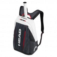 Head, Djokovic Backpack, Black/ White