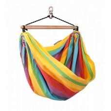 La Siesta, Iri Rainbow Cotton Kids Hammock Chair (Without Rope)