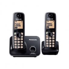 Panasonic Cordless Phone DECT with Handy, Black - KXTG3712BXB