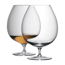 Lsa, Bar Brandy, With A Set Of 2 Glasses, 900 Ml, Clear