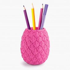 Mustard, Pineapple Shaped Pen Pot
