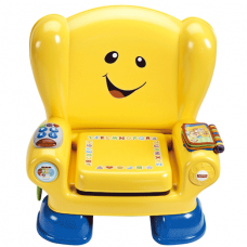 Fisher-Price Laugh & Learn Smart Stages Chair Yellow, French