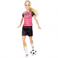 Barbie, Made to Move Football Player Blonde