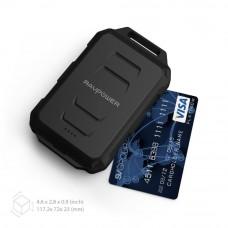 RAVPower 10050mAh Waterproof and Shockproof Power Bank - Black