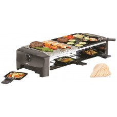 Tristar, Raclette 8 Persones, Duplex Grill Plate & Stone Grill, Rc80.47