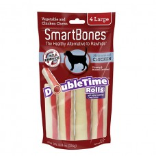 SmartBones Chicken Doubletime Rolls, Large, 4 pieces