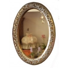 Gifts & More, Arabesque Oval Mirror