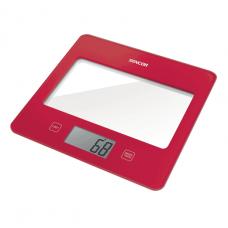 Sencor, Kitchen Scale, Red, SKS-5024RD