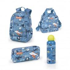 Gabol, Boys' School Bag Set, Blue