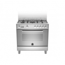 La Germania Cooker, full inner glass door Stainless