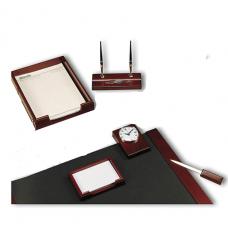 Bestar, Desk Set Mahogany, 6 Pieces, Pack of 1