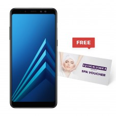 Samsung Galaxy A8+(2018), Dual Sim, 4 GB Ram, 64 GB 4G LTE With a Free Selfie Stick, Screen Protector, Ring Tok Cover and 2in1 Cable + Free $180 SPA Voucher from Phoenicia Hotel