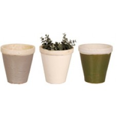 Esschert Design BV, Ceramic Flower Pots - available in 3 colors