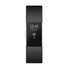 Fitbit Charge 2, Black, Stainless Steel, Gunmetal, Plum, Lavender - Large/Small